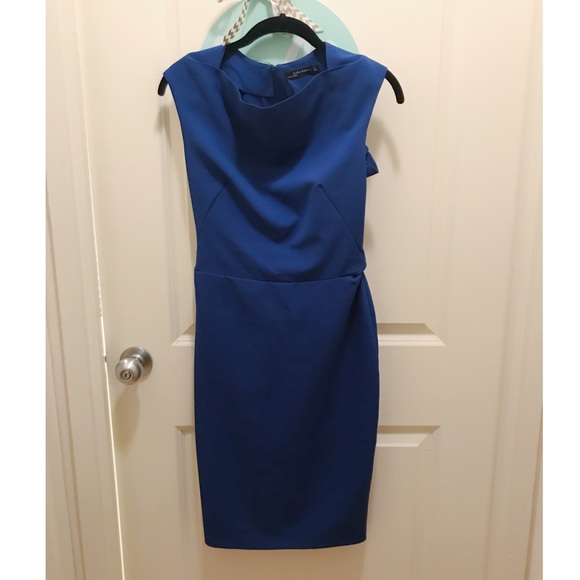 eef644a5 Zara Dresses | Royal Blue Dress S | Poshmark